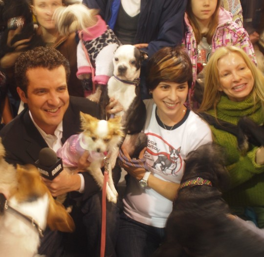 Rick Mercer at Pet Fun Fest & Adopt A Pet A-thon