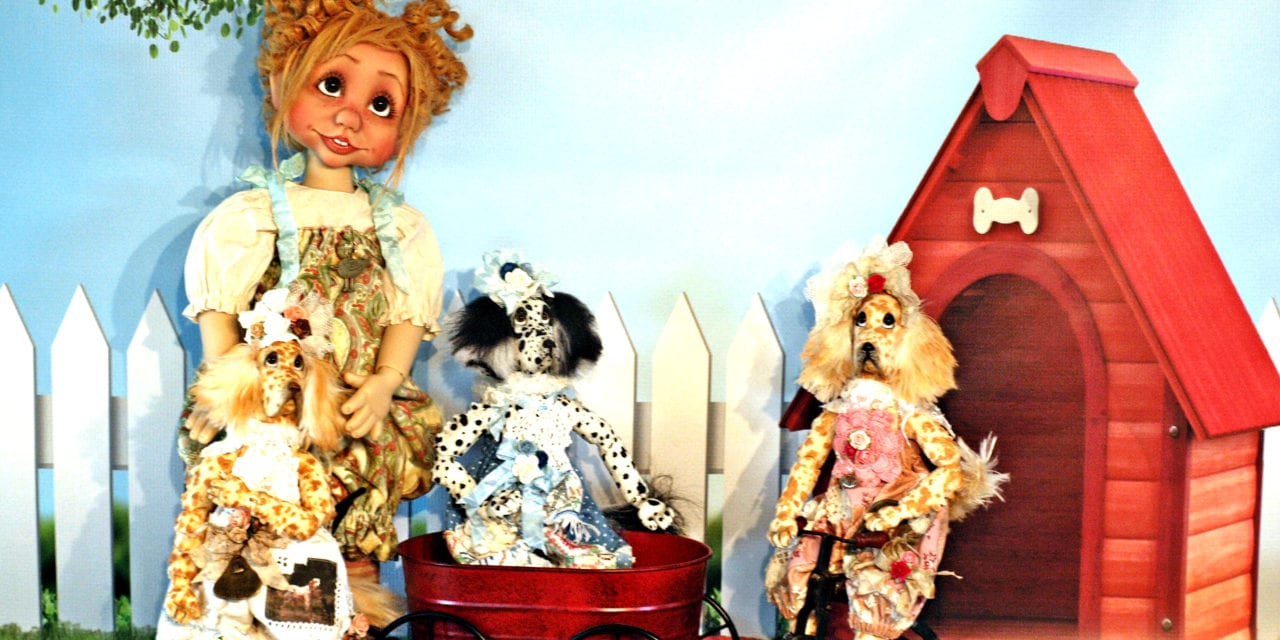 Doll talk: Q & A with award-winning doll maker Kim Arnold.
