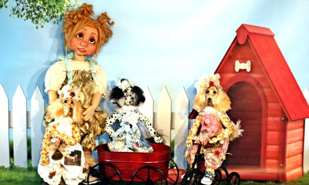Doll talk: Q & A with award-winning doll maker Kim Arnold.