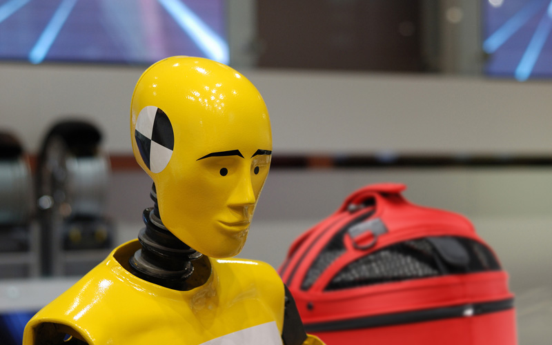 Sleepypod Tests the Safety of its Pet Carrier in Simulated Crash Test