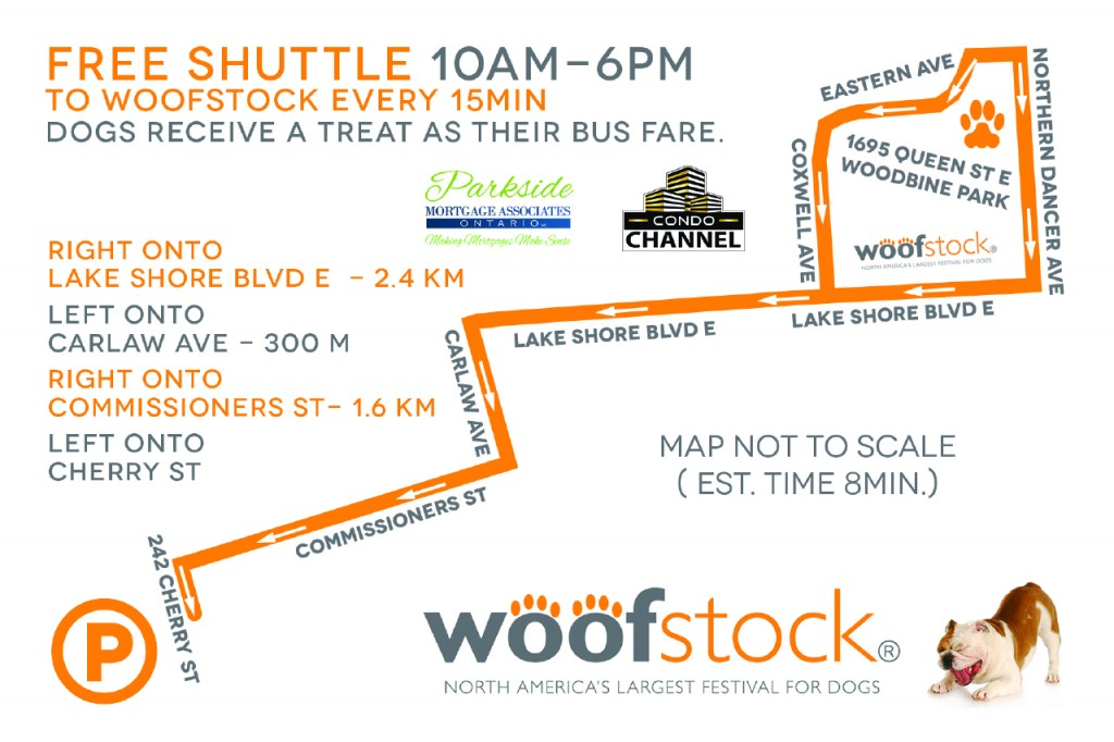 Woofstock Happenings ~ May 28 & 29 ~ Woodbine Park in Toronto.